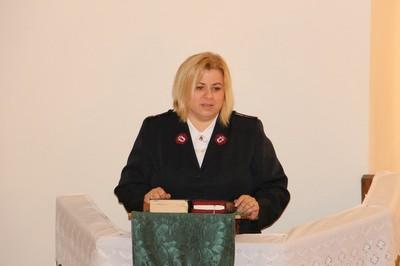 Gazsó Andrea lelkész - Üdvhadsereg - small