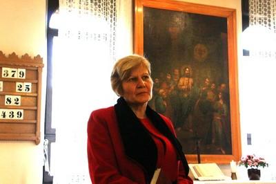 Megválasztott új pénztárosunk: Keresztesi Sarolta - small