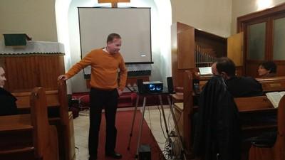 A gyülekezetünk ifjúsága által készített film következett: 2517 címmel  - small